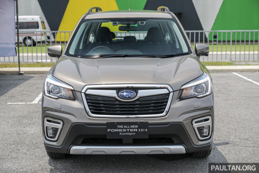 2019 Subaru Forester previewed in Malaysia – three 2.0L variants offered, EyeSight for range-topper Image #1002332