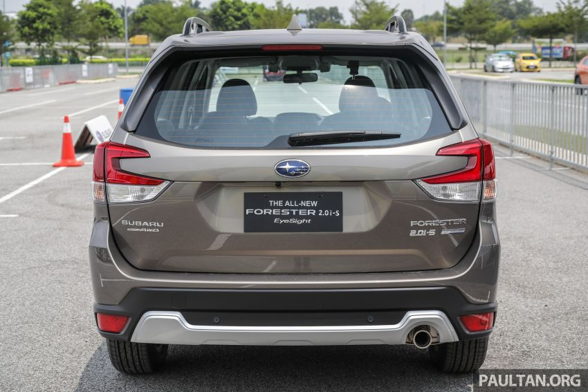 2019 Subaru Forester previewed in Malaysia – three 2.0L variants offered, EyeSight for range-topper Image #1002336