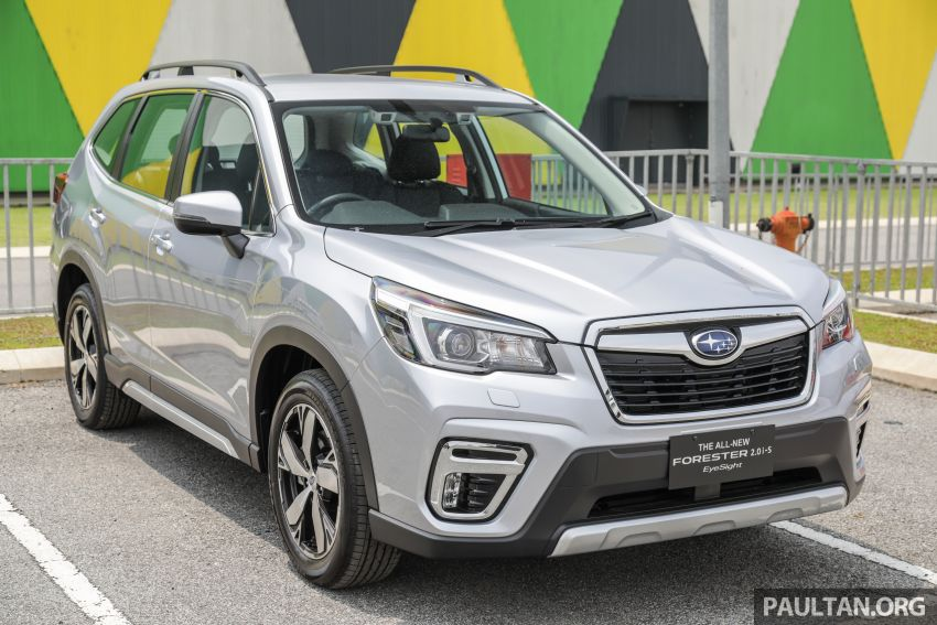 2019 Subaru Forester previewed in Malaysia – three 2.0L variants offered, EyeSight for range-topper Image #1002348