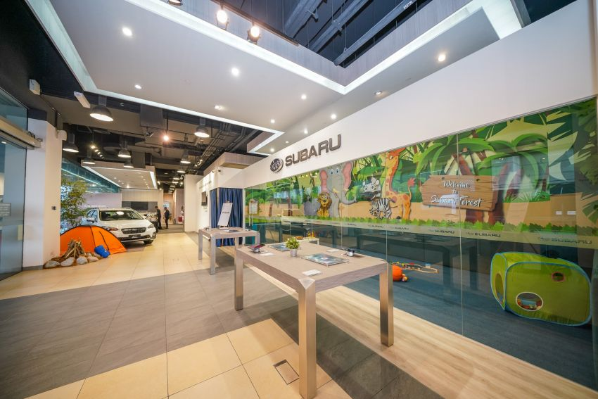 Motor Image launches updated Subaru PJ showroom Image #1005459