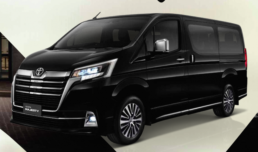 Toyota Majesty launched in Thailand, a luxe Commuter Image #1003418
