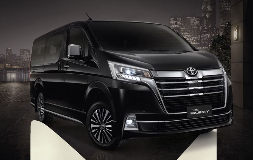 Toyota Majesty launched in Thailand, a luxe Commuter Image #1003434