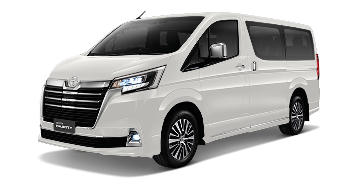Toyota Majesty launched in Thailand, a luxe Commuter Image #1003437