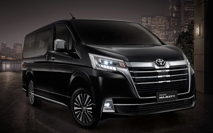 Toyota Majesty launched in Thailand, a luxe Commuter Image #1003665