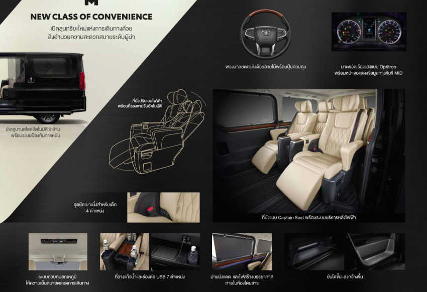 Toyota Majesty launched in Thailand, a luxe Commuter Image #1003422