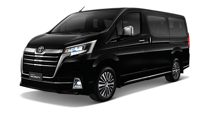Toyota Majesty launched in Thailand, a luxe Commuter Image #1003427