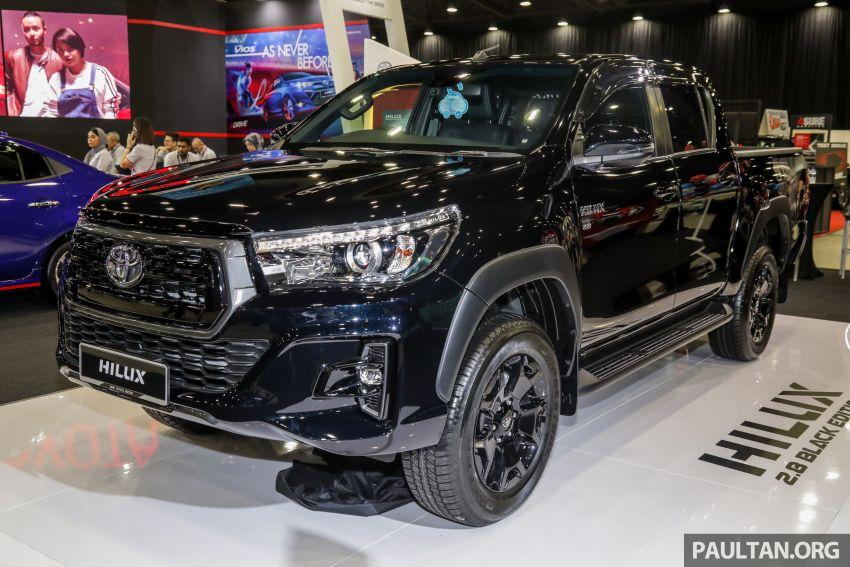 Toyota Hilux 2.8 Black Edition dilancarkan – RM140k Image #1002383