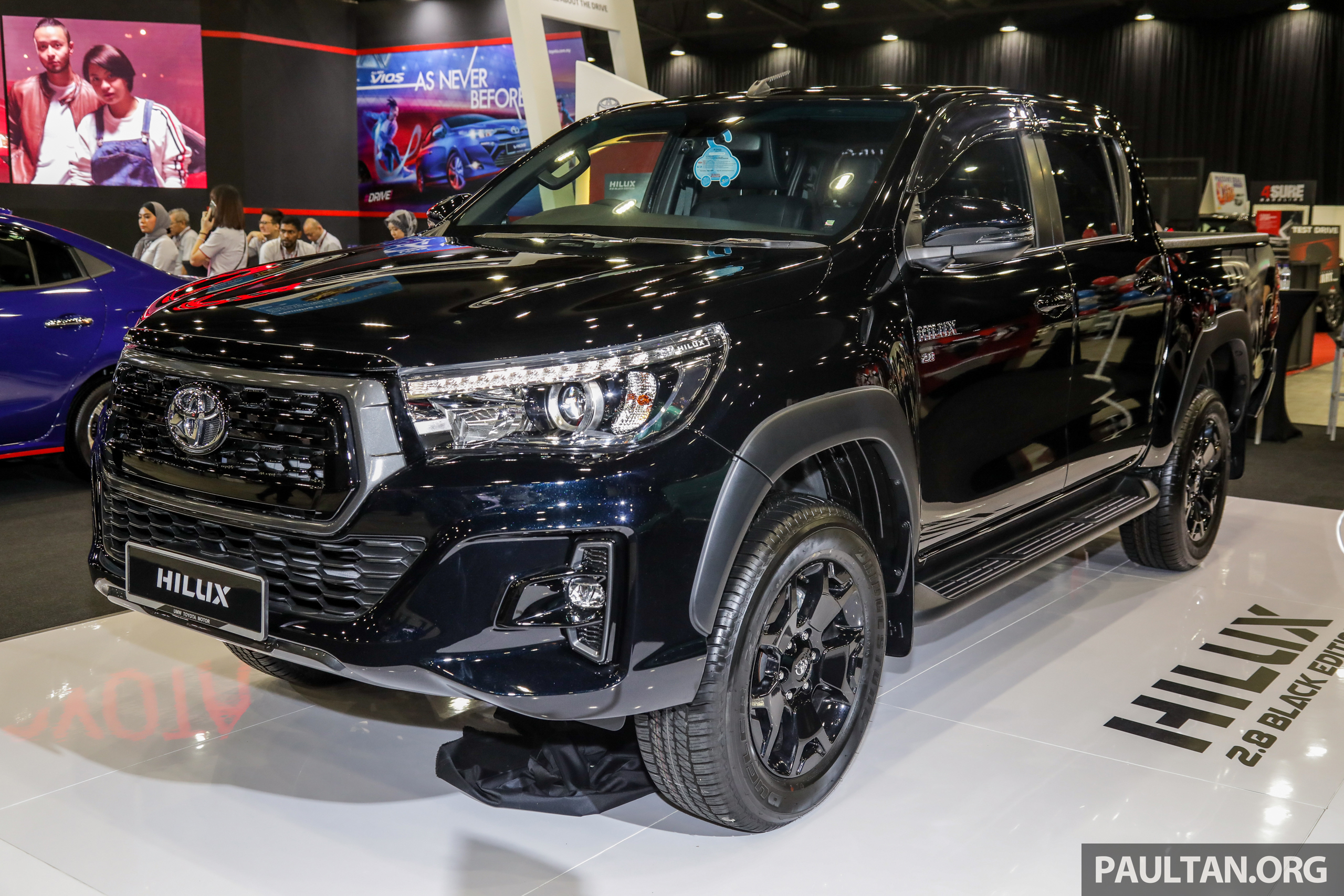 Toyota Hilux 2 8 Black Edition Launched Rm139 888 Paultan Org