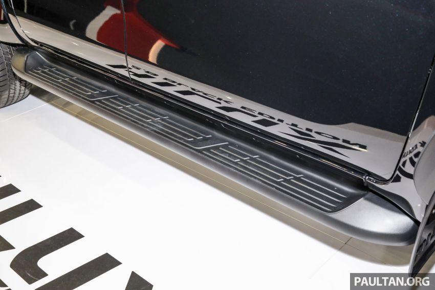 Toyota Hilux 2.8 Black Edition dilancarkan – RM140k Image #1002400