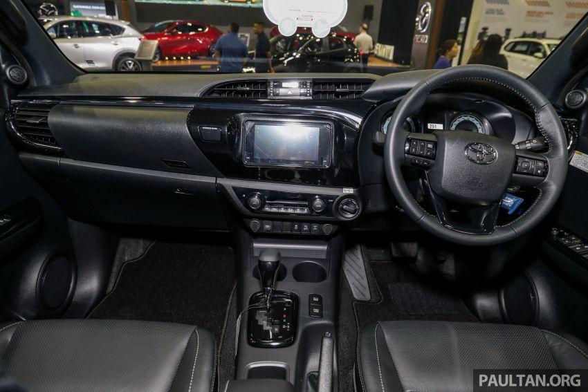 Toyota Hilux 2.8 Black Edition dilancarkan – RM140k Image #1002410