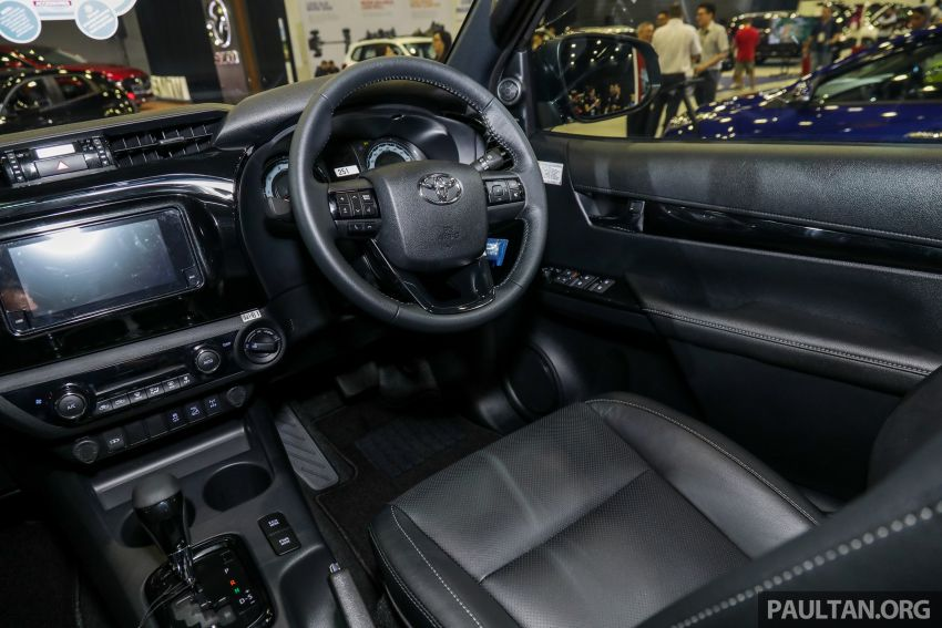 Toyota Hilux 2.8 Black Edition dilancarkan – RM140k Image #1002415