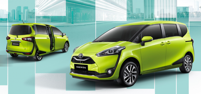 Toyota Sienta facelift launched in Thailand, fr. RM103k Image #1003165