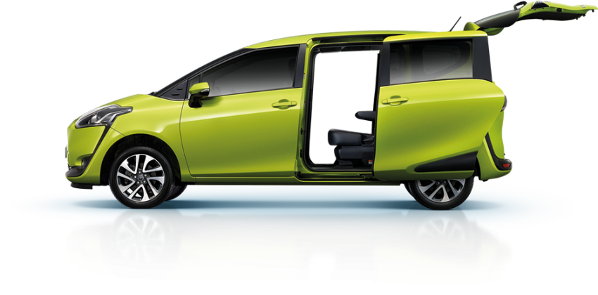 Toyota Sienta facelift launched in Thailand, fr. RM103k Image #1003176
