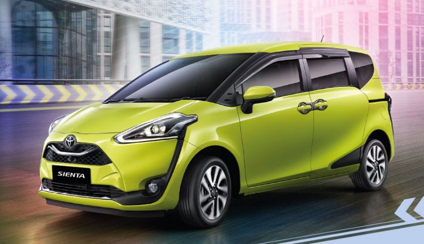 Toyota Sienta facelift launched in Thailand, fr. RM103k Image #1003199