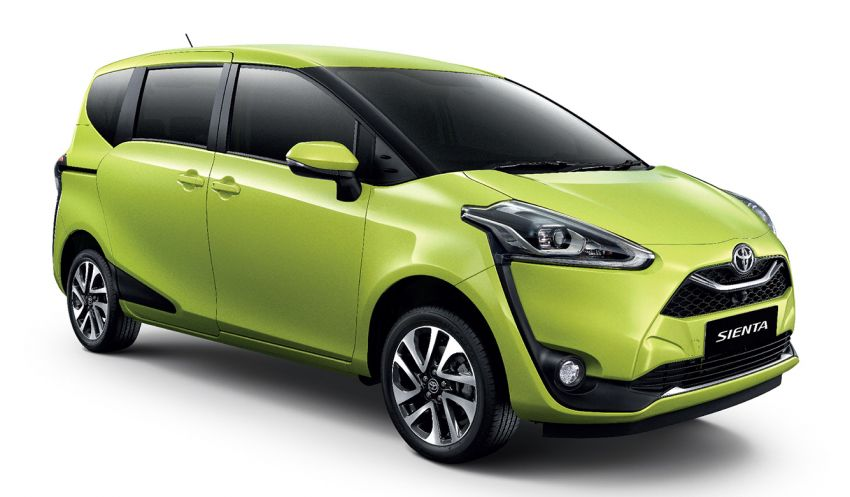 Toyota Sienta facelift launched in Thailand, fr. RM103k Image #1003300