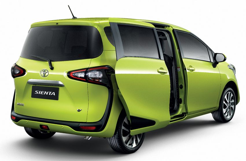 Toyota Sienta facelift launched in Thailand, fr. RM103k Image #1003301