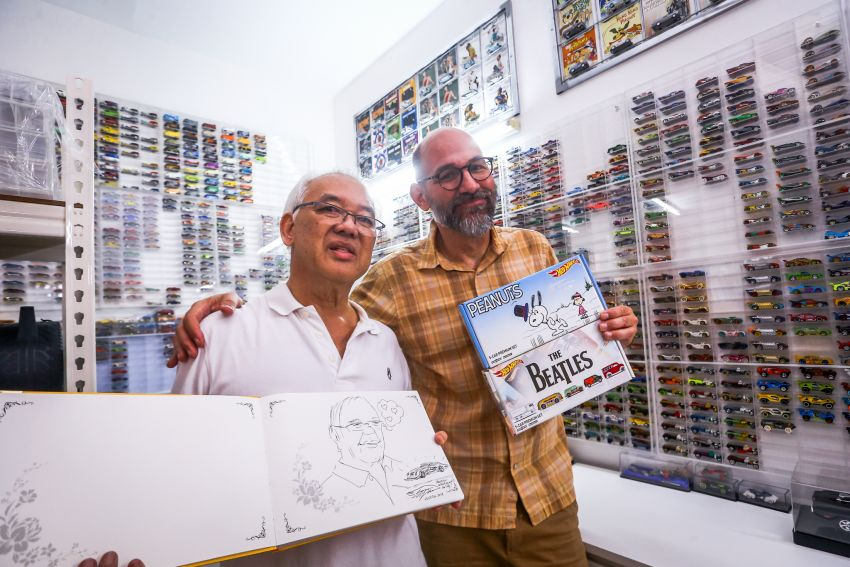 Malaysia's biggest Hot Wheels collector has over 10,000 pieces – cost RM100k, valued at RM200k-300k Image #1000700