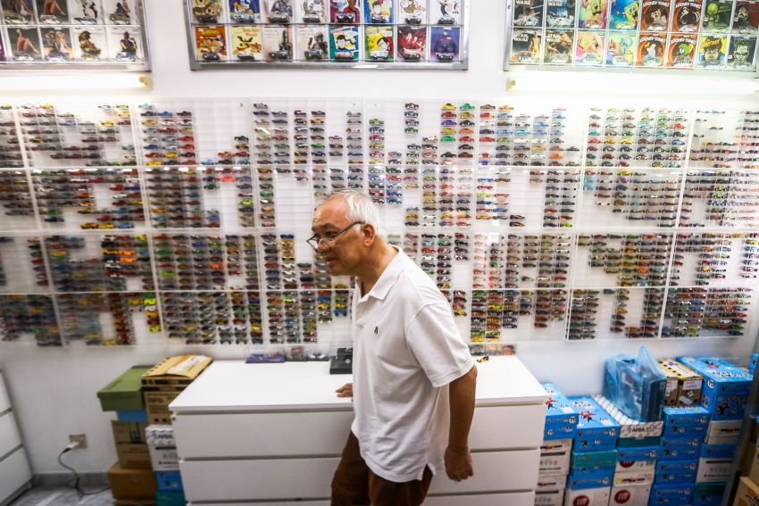 Malaysia's biggest Hot Wheels collector has over 10,000 pieces – cost RM100k, valued at RM200k-300k Image #1000684