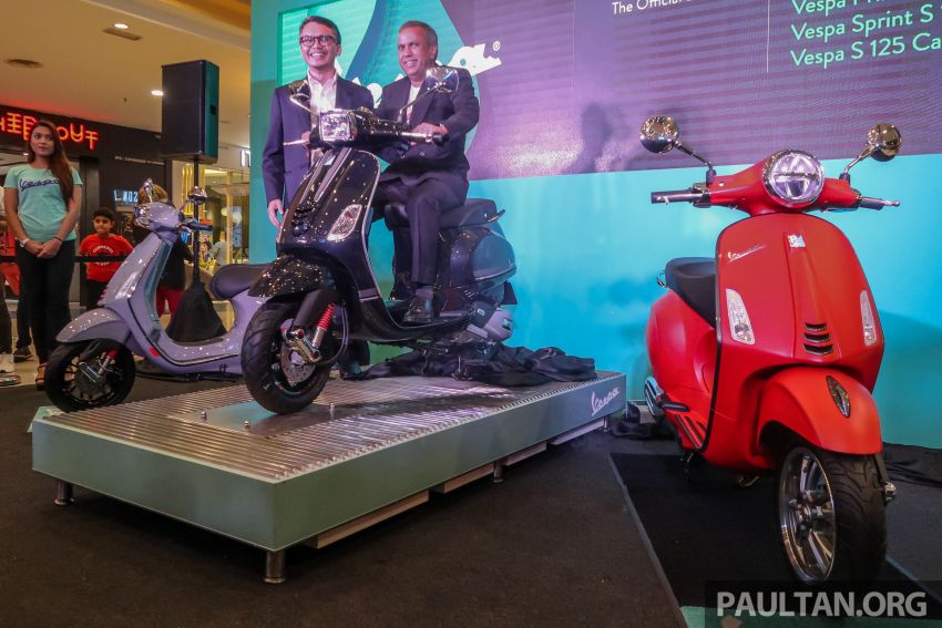 2019 Vespa Primavera S 150, Sprint S 150 and S125 Carbon Edition launch in Malaysia – from RM12,500 Image #999296