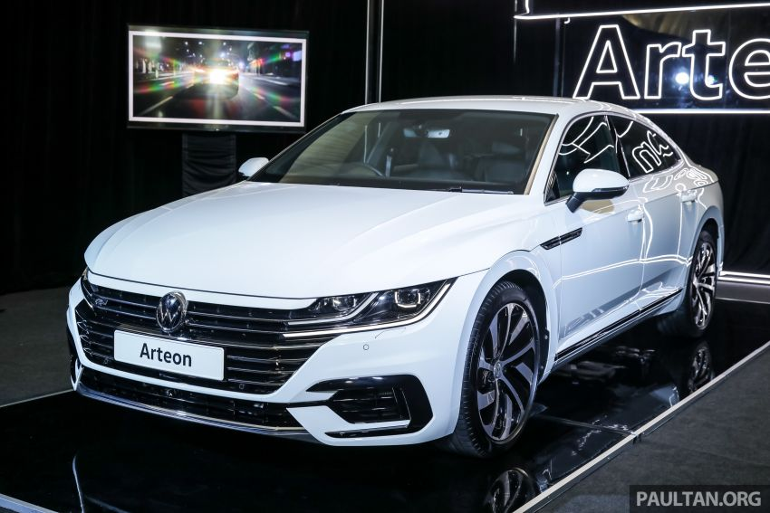 GALLERY: VW Arteon previewed in M'sia; Oct launch Image #1009170