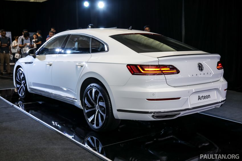 GALLERY: VW Arteon previewed in M'sia; Oct launch Image #1009171