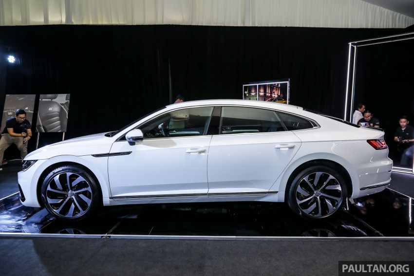 GALLERY: VW Arteon previewed in M'sia; Oct launch Image #1009172