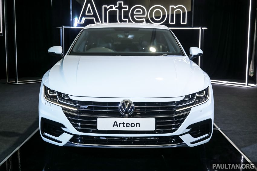 GALLERY: VW Arteon previewed in M'sia; Oct launch Image #1009173