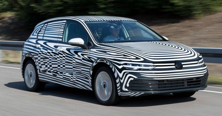 Mk8 Volkswagen Golf undergoes final testing phase Image #1008450