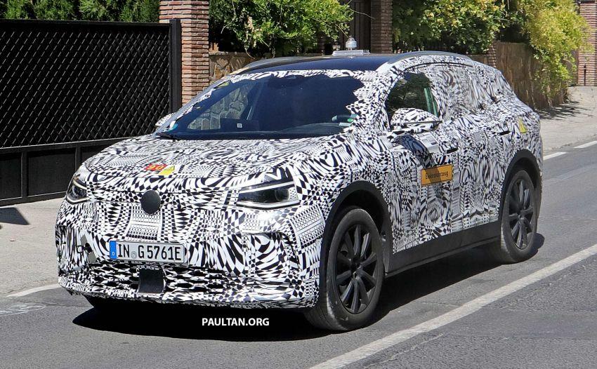 SPYSHOTS: Volkswagen ID. Crozz in production body Image #996261