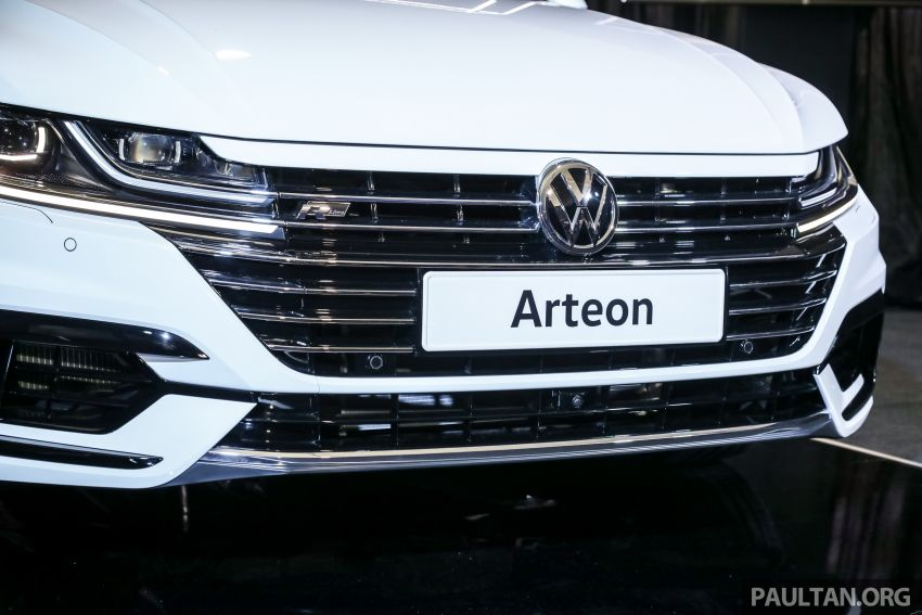 GALLERY: VW Arteon previewed in M'sia; Oct launch Image #1009205
