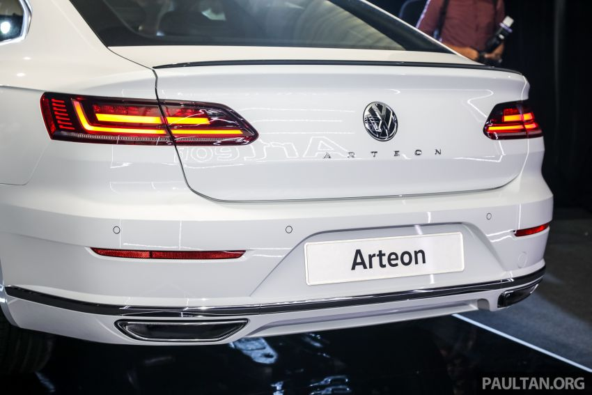 GALLERY: VW Arteon previewed in M'sia; Oct launch Image #1009215