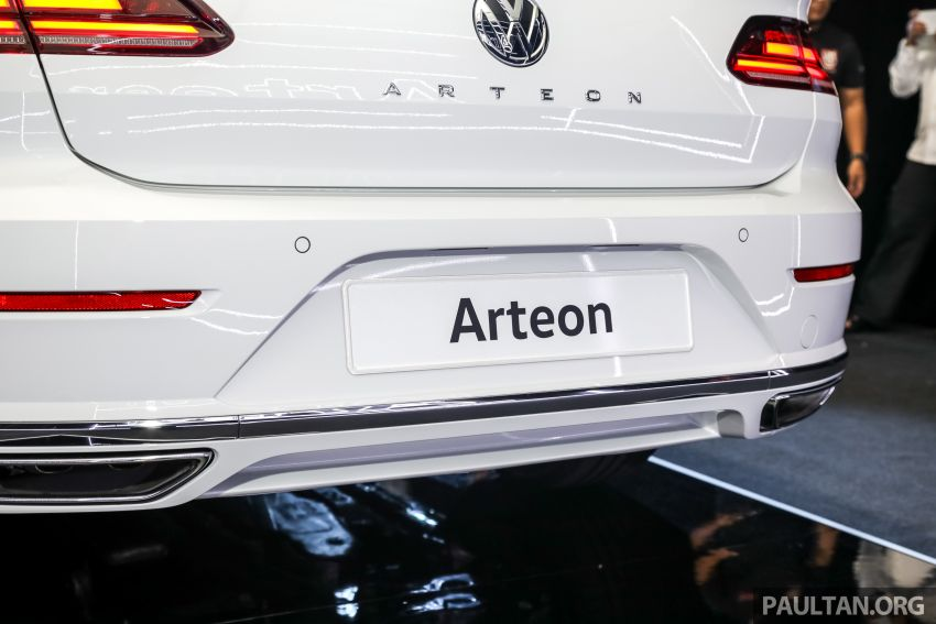 GALLERY: VW Arteon previewed in M'sia; Oct launch Image #1009219