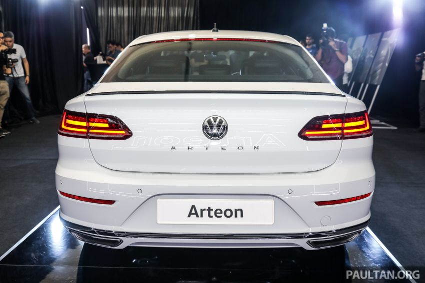 GALLERY: VW Arteon previewed in M'sia; Oct launch Image #1009199