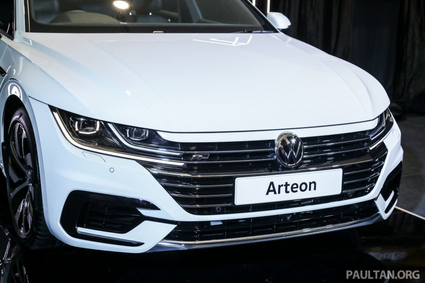 GALLERY: VW Arteon previewed in M'sia; Oct launch Image #1009200