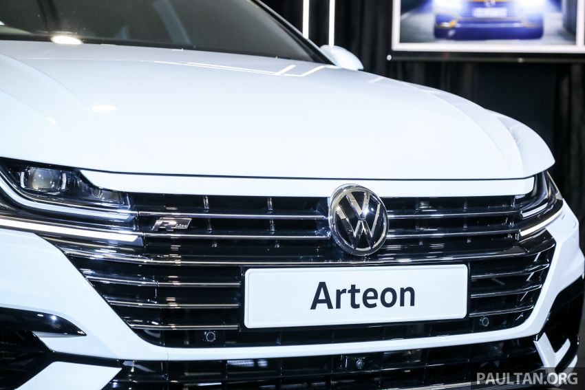 GALLERY: VW Arteon previewed in M'sia; Oct launch Image #1009204