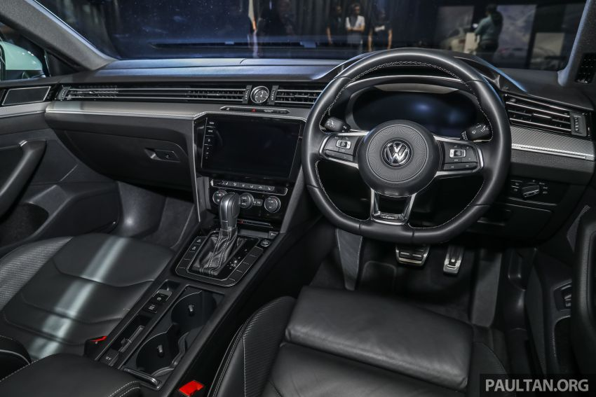 GALLERY: VW Arteon previewed in M'sia; Oct launch Image #1009245