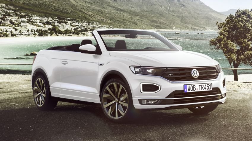 Volkswagen T-Roc Cabriolet – two petrol variants Image #1000761