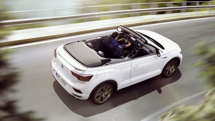 Volkswagen T-Roc Cabriolet – two petrol variants Image #1000767