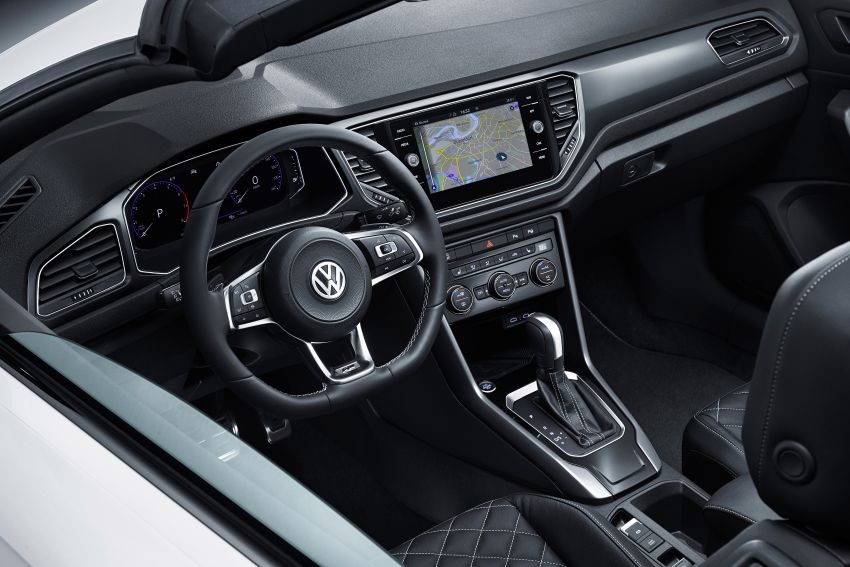 Volkswagen T-Roc Cabriolet – two petrol variants Image #1000782