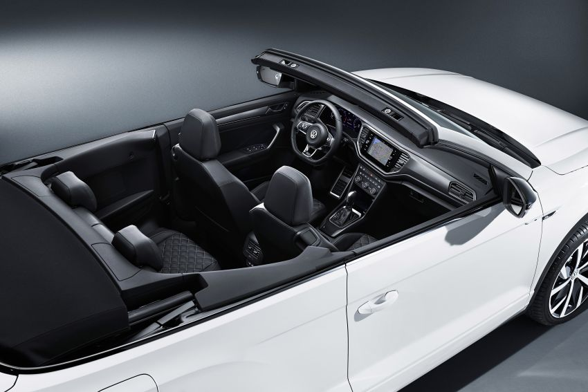 Volkswagen T-Roc Cabriolet – two petrol variants Image #1000783
