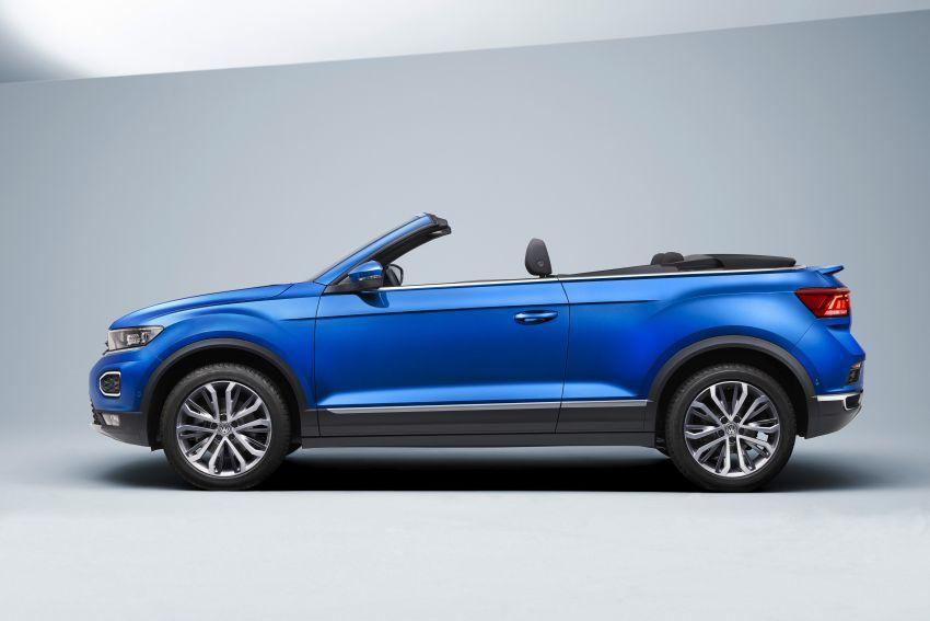 Volkswagen T-Roc Cabriolet – two petrol variants Image #1000813