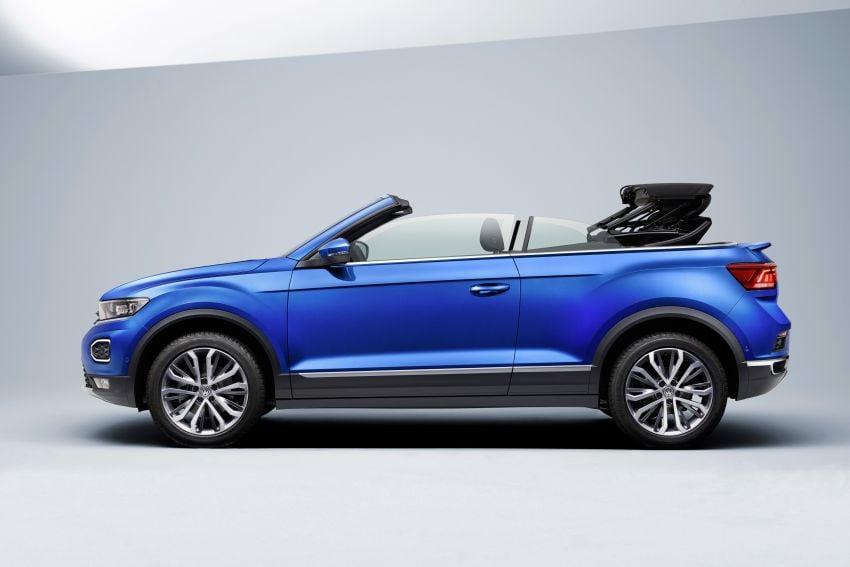 Volkswagen T-Roc Cabriolet – two petrol variants Image #1000815