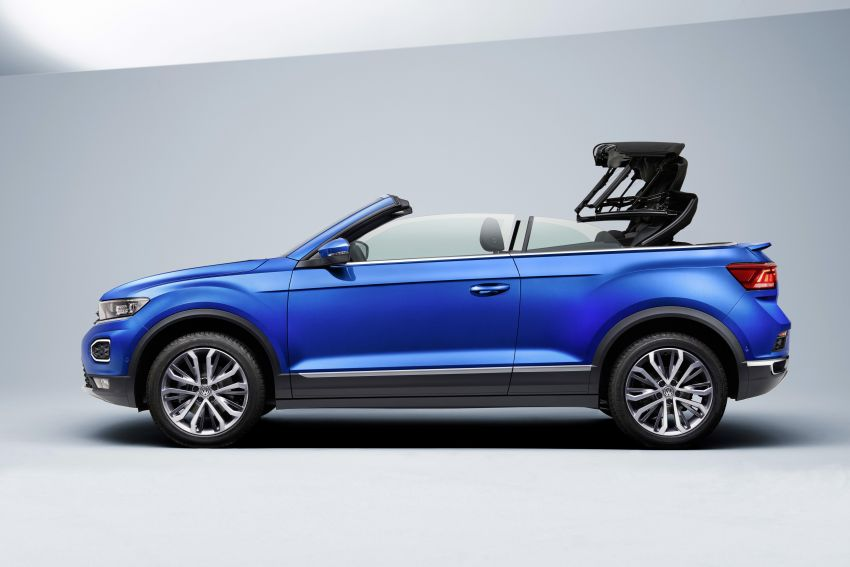 Volkswagen T-Roc Cabriolet – two petrol variants Image #1000816