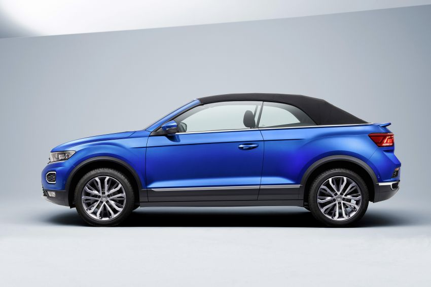 Volkswagen T-Roc Cabriolet – two petrol variants Image #1000826