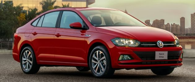 Volkswagen Virtus launched in Mexico, from RM60k