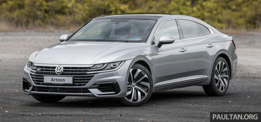 GALLERY: VW Arteon previewed in M'sia; Oct launch Image #1008908