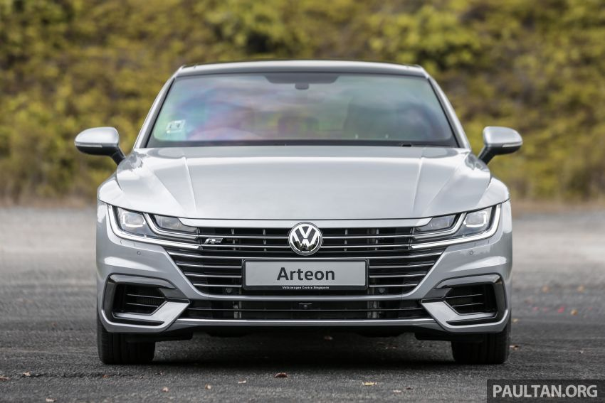 GALLERY: VW Arteon previewed in M'sia; Oct launch Image #1008917