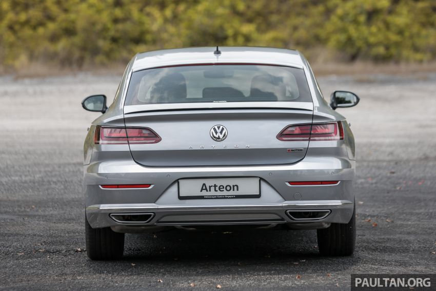 GALLERY: VW Arteon previewed in M'sia; Oct launch Image #1008918
