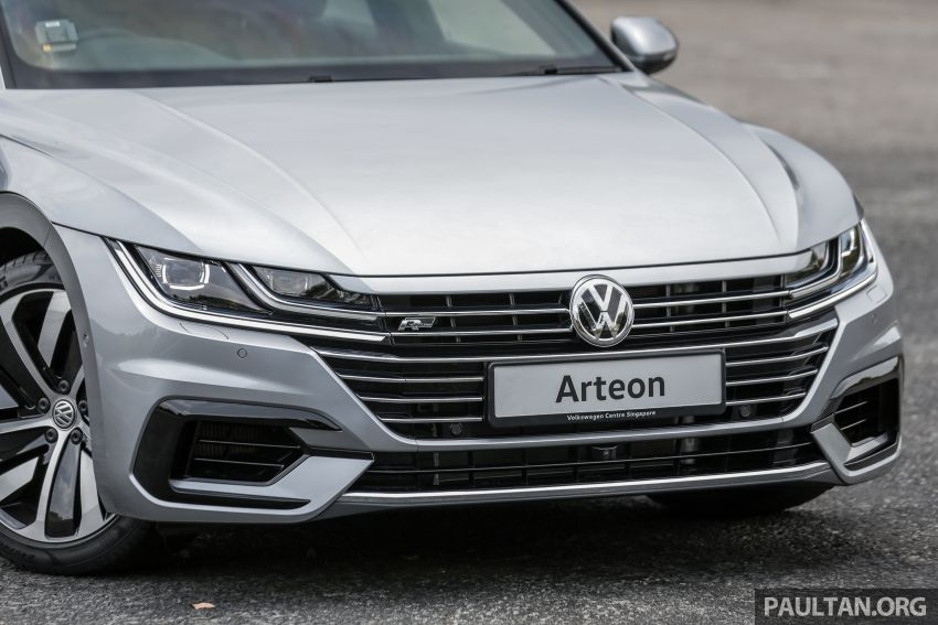 GALLERY: VW Arteon previewed in M'sia; Oct launch Image #1008925