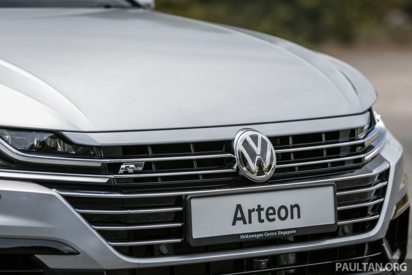 GALLERY: VW Arteon previewed in M'sia; Oct launch Image #1008944